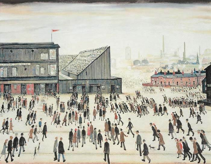 Lowry Prints Auction Value