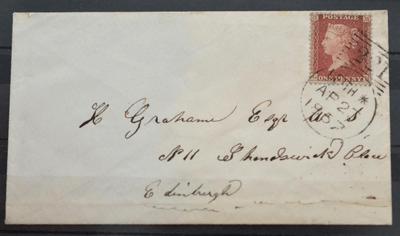 Great Britain. 1857 Cover to Edinburgh £280