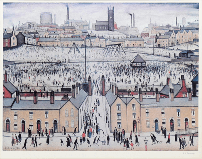 A Guide To Lowry Prints And Their Value