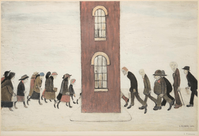 L S Lowry Meeting Point