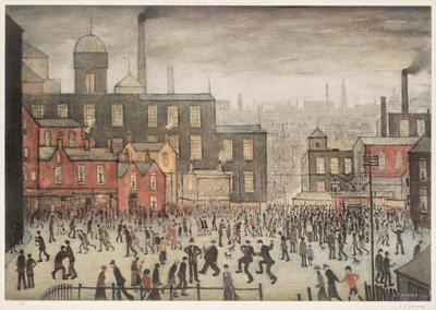 L S Lowry Our Town