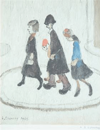 L S Lowry The Family