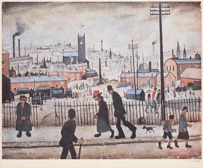 L S Lowry View of a Town
