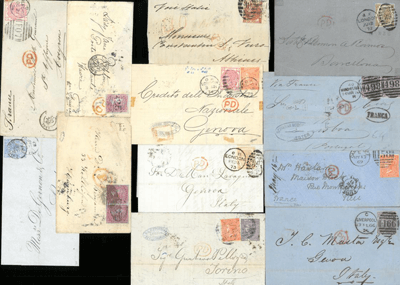 Great Britain. A small collection of mainly surface printed covers - £250