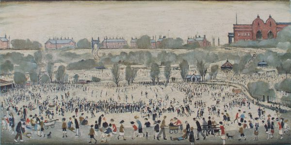 L S Lowry Peel Park For Sale Limited Edition Print