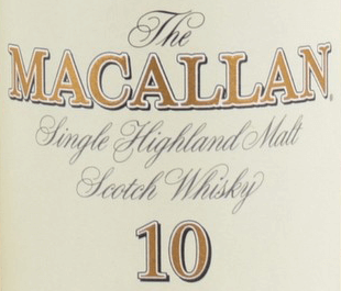 Macallan Old Style Label