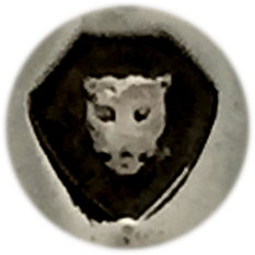 The Leopards head represents the town mark for London.  It does change slightly over the years and it may have a crown if it is pre-1820.
