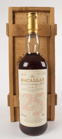 Macallan 25 Year Old 1969