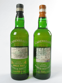 Macallan Cadenhead Bottlings