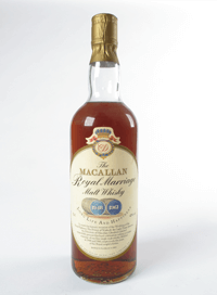 Macallan Royal Marriage Charles Diana
