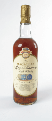 Macallan Royal Marriage Charles and Diana