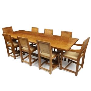 Mouseman Refectory Table