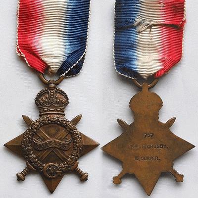 1914 1915 Star Medal