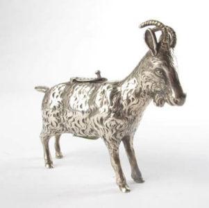A Novelty Goat Cow Creamer