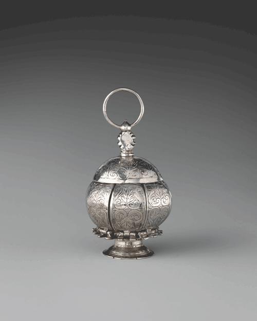 A-silver-pomander