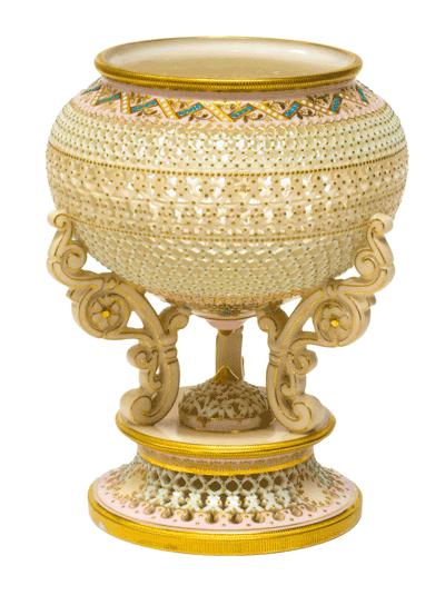 George Owen Worcester Vase