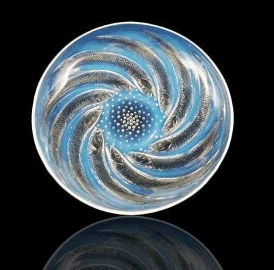 Lalique Poissons Bowl