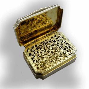 silver vinaigrette guide history