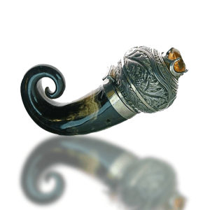 Scottish Silver Snuff Mull