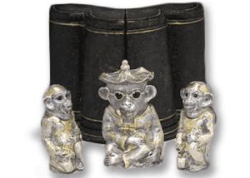 victorian silver cruet value