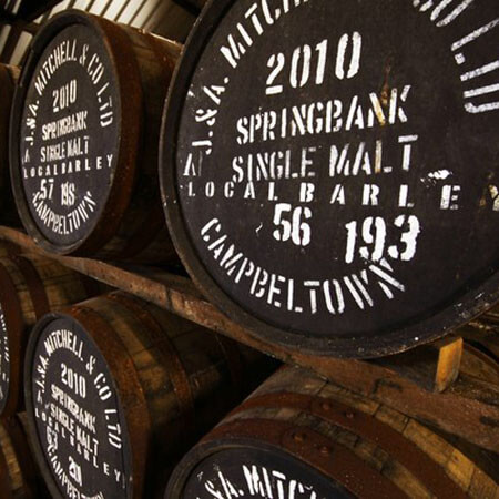 Whisky Casks Mark Littler