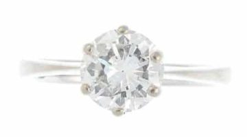 A-diamond-single-stone-ring.-The-brilliant-cut-diamond-with-tapered-shoulders.-Estimated-diamond-weight-1.60cts-£2400
