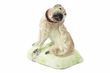 A-rare-Bow-model-of-a-pug-dog-c.1755-£2600