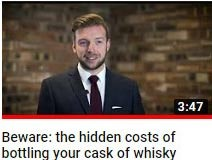 How much does it cost to bottle a cask of whisky - whisky cask investment video guide