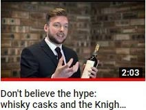 Do cask of whisky really increase in value 8-12% per year? whisky cask investment video guide