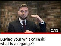 What is a whisky cask regauge -- whisky cask investment video guide