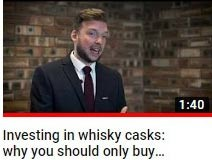 What age cask should you buy when you are buying a cask of whisky - whisky cask investment video guide