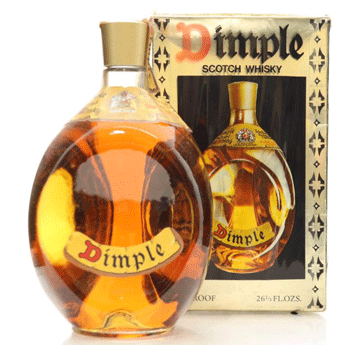 Bottles of Dimple whisky are generally worth less than £50