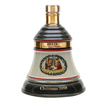 Bell's Christmas 1988 Decanter, worth less than £50