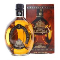 Dimple whisky, worth less than £30