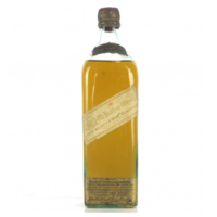 An early bottle of Johnnie Walker white label from the 1910s, worth 3-4 figures