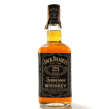 Standard bottles of Jack Daniel's Old No.7 whiskey are worth less than £100