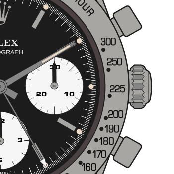 Rolex-Cosmograph-6239-1-Bezel-Calibration
