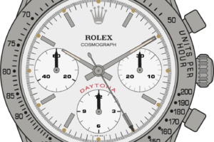Rolex Cosmograph 6239 edition 3 Illustration