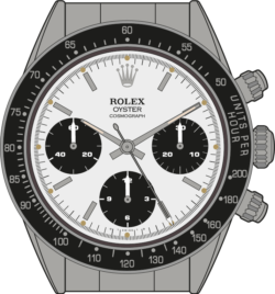 Rolex Cosmograph 6240 Daytona Illustration