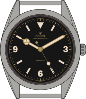 Rolex Explorer 6150 illustration