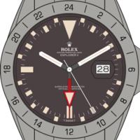 Rolex-Explorer-II-Bezel-1665