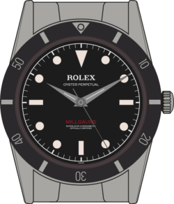Rolex Milgauss 6541 illustration