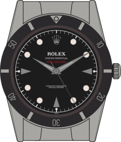 Rolex Milgauss 6541 edition 2 illustration