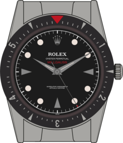 Rolex Milgauss 6541 edition 3 illustration