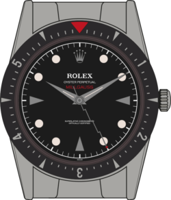 Rolex Milgauss 6541 edition 4 illustration