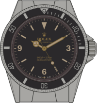 Submariner 5513 edition 1