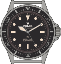 submariner 5517 - military edition