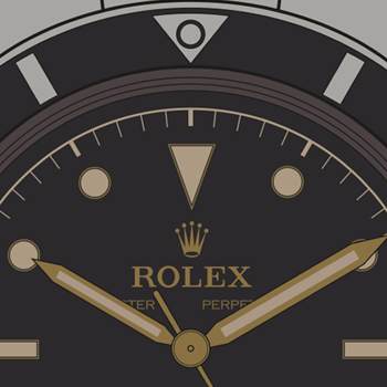 Rolex-Submariner-Pencil-Hands-Diall