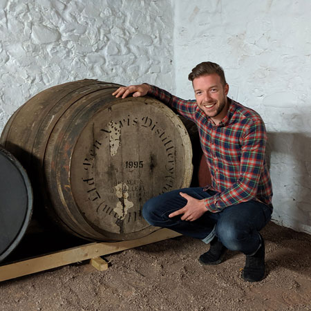 Mark Littler is here to help with any of your questions about bottling a cask of whisky.