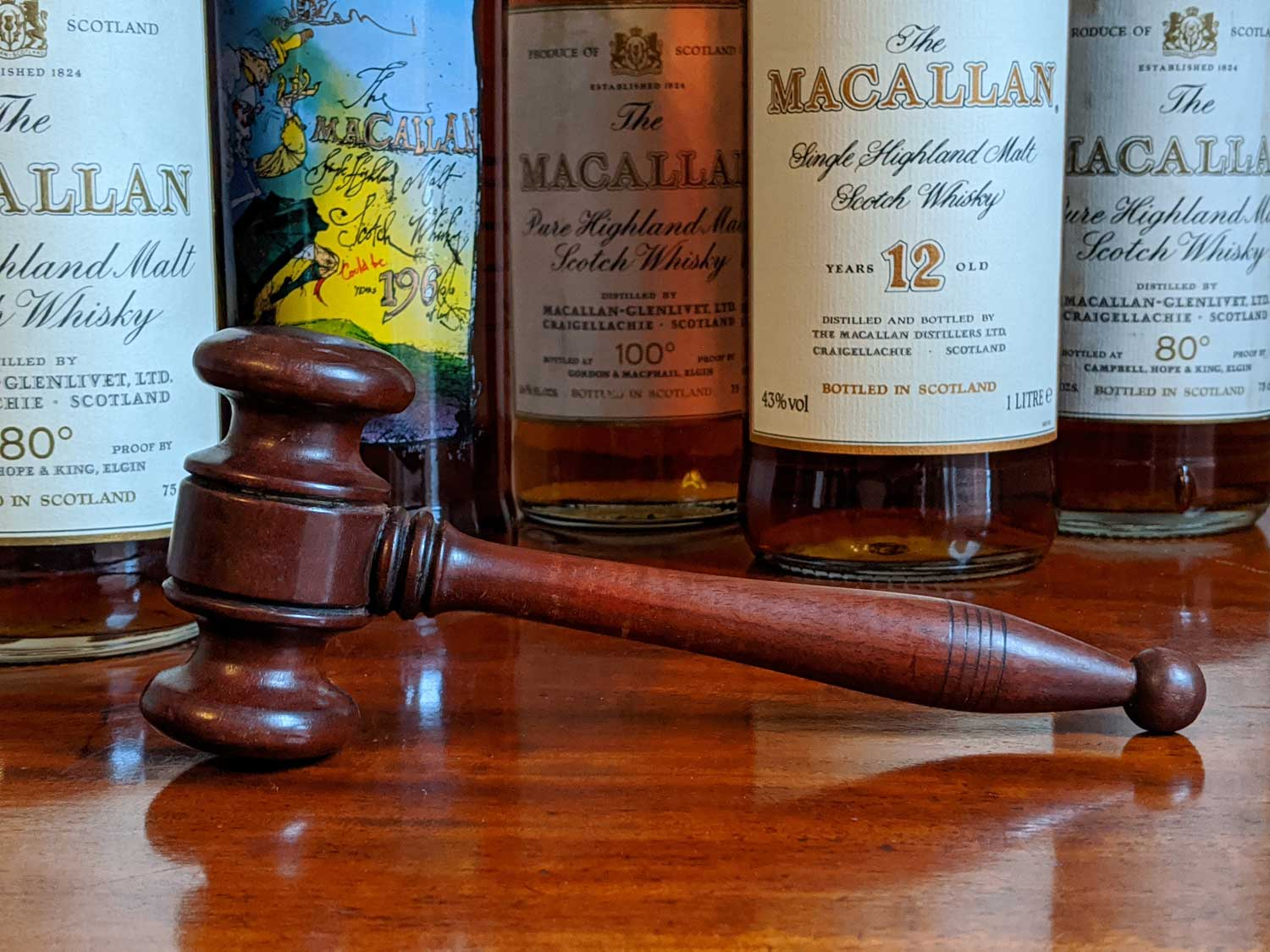 Can you trust estimates at whisky cask auctions?